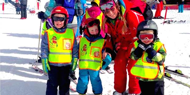 Eerste keer als skilerares in Fiss-Ladis