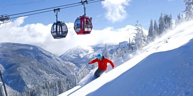 Alleen nog gezonde skileraren in Aspen