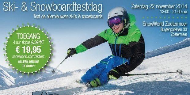 Nationale FGHS ski- en snowboardtestdag
