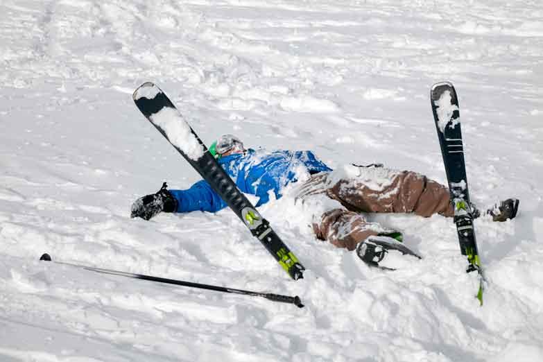Leren Ski 235 N Voorkomt De Angst Voor Vallen