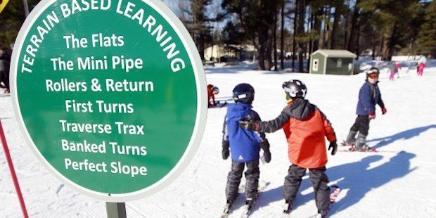 Anders leren skiën met Terrain Based Learning