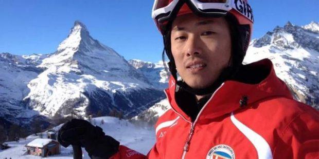 Leren skiën in het Chinees