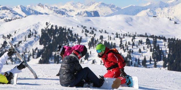 De drukte en rust van dit wintersportseizoen