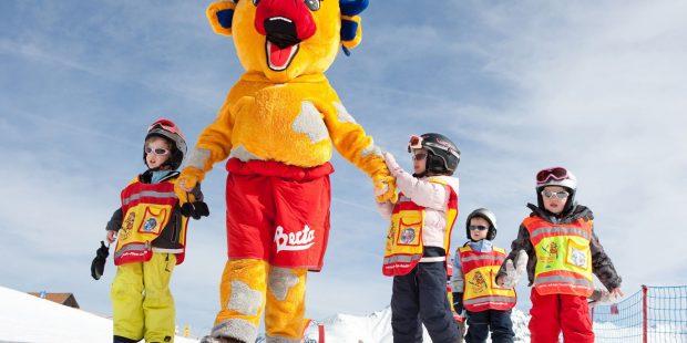 Skischule Fiss-Ladis legt de lat hoog met Bertas Kindervilla