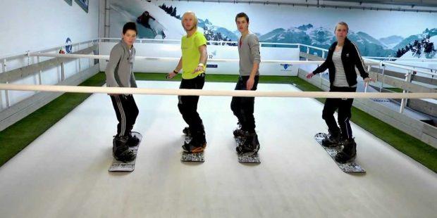 Nederlandse skileraren helpen bij opstarten Amerikaanse rolskibaan