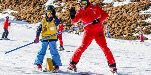 Leren skiën met een ontwikkelingsstoornis