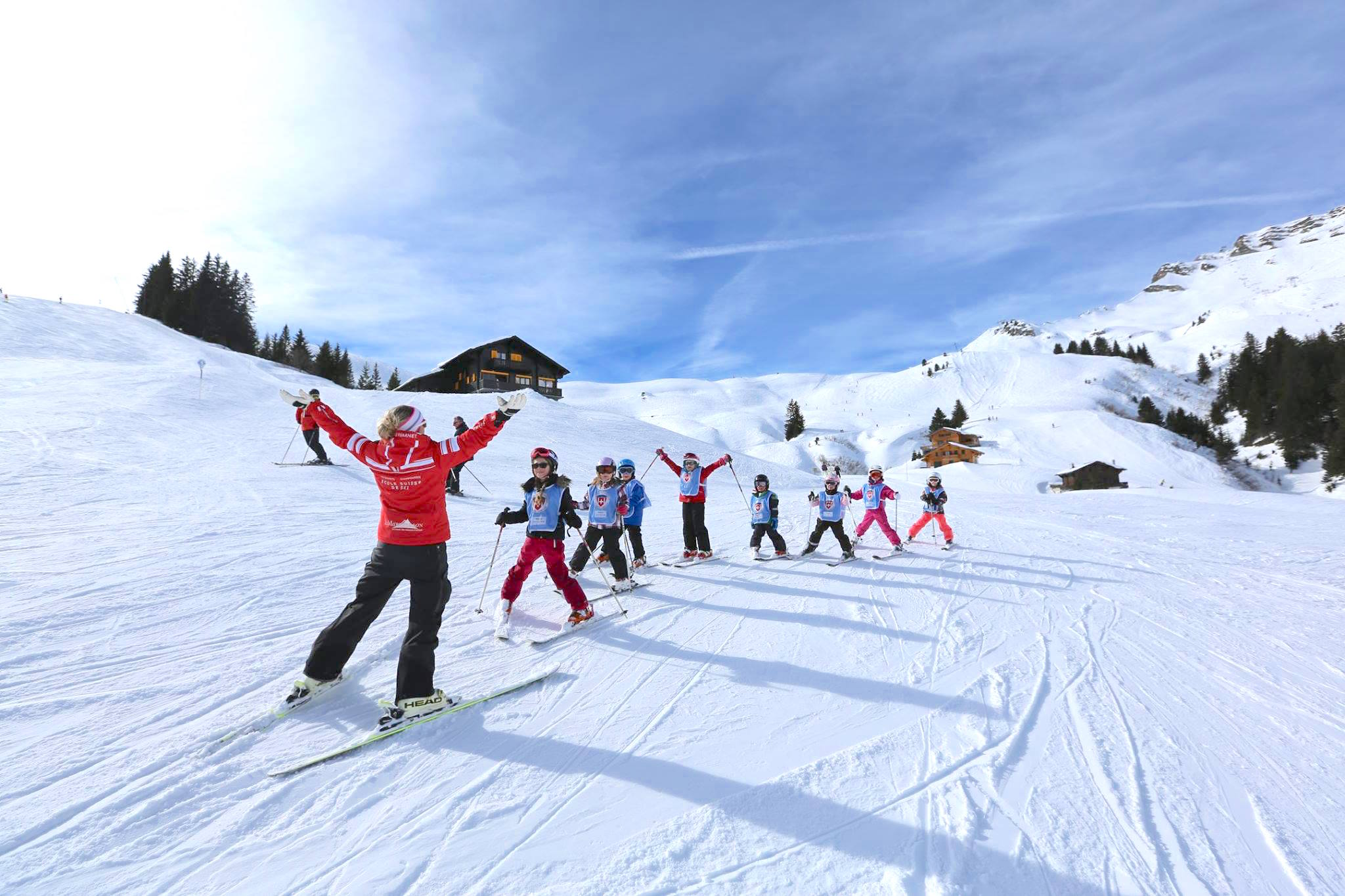 ecole suisse de ski et de snowboard les crosets champoussin. Black Bedroom Furniture Sets. Home Design Ideas