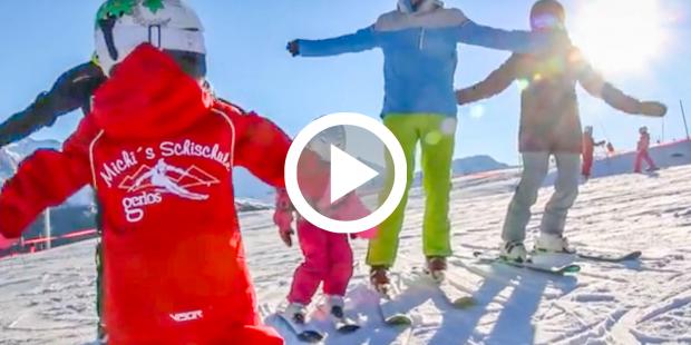 Met 4 jaar de jongste skilerares ter wereld