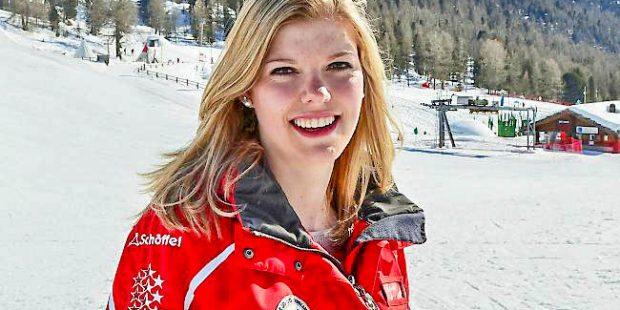 Valerie is de mooiste skilerares van Oberwallis