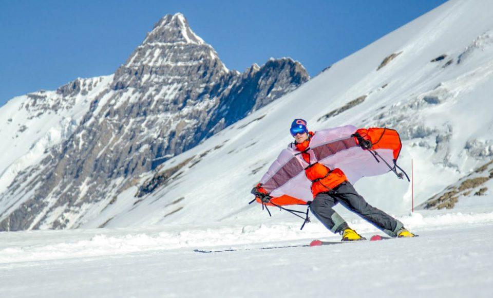 Wingjump: Een nieuwe gadget voor tijdens de skiles