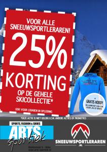 Arts Sportiek Korting skileraar