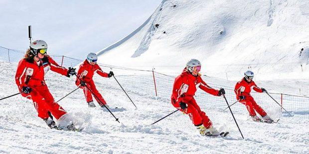Wereldkampioenschappen voor skileraren 2017 in Samnaun