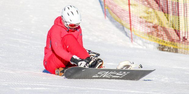 Voorkom frustratie bij beginnende snowboarders