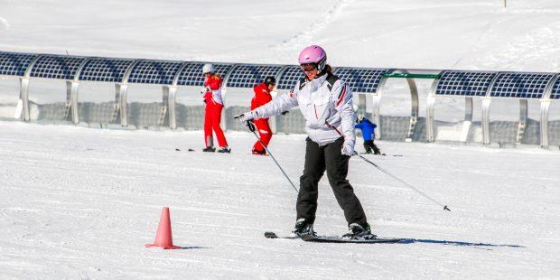 Leren skiën: Beter laat, dan nooit