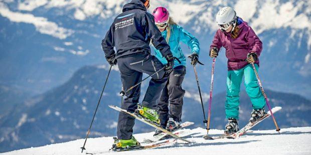 De eerste Drive-Thru skischool ter wereld