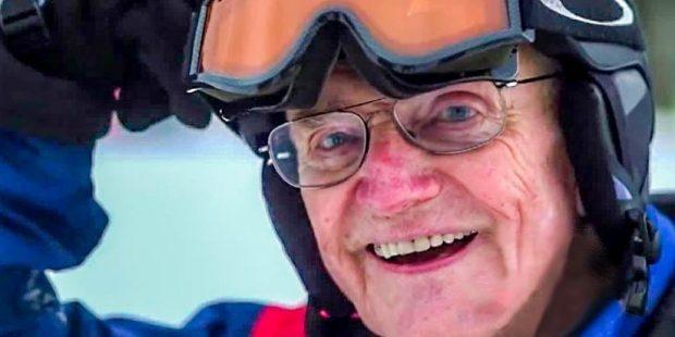 Bud (85) inspireert zijn leerlingen en collega skileraren
