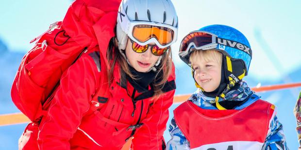 5 ski's speciaal voor skileraressen