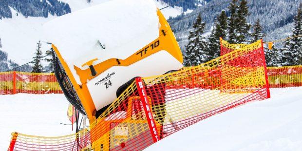 Worden sneeuwkanonnen wel voldoende afgeschermd?