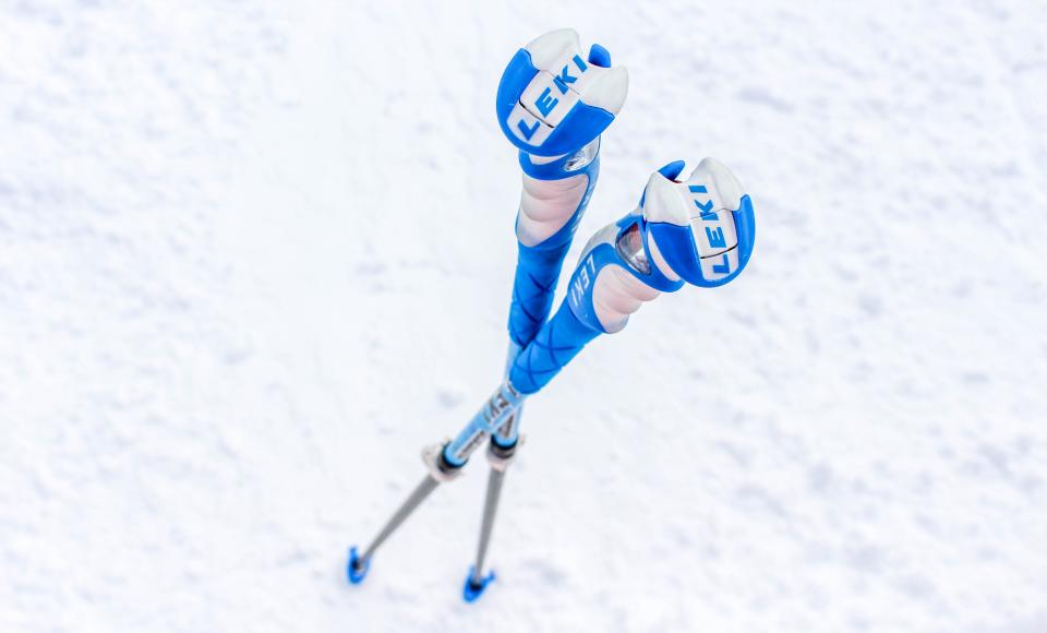 Leki Vario S skistokken: handig tijdens het lesgeven