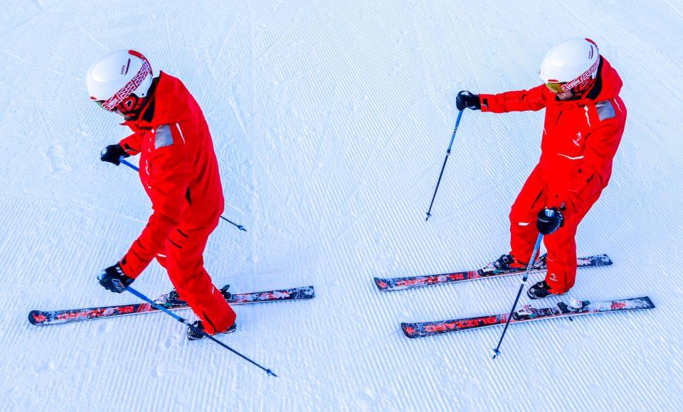 Lopen op één ski