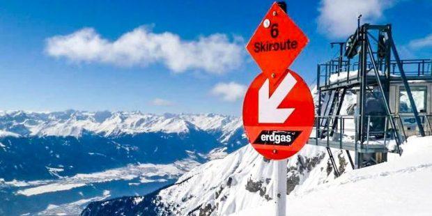 Wanneer mag je lesgeven op een skiroute?