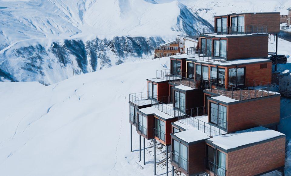 Een skilerarenhuis gemaakt van containers, een goed idee?