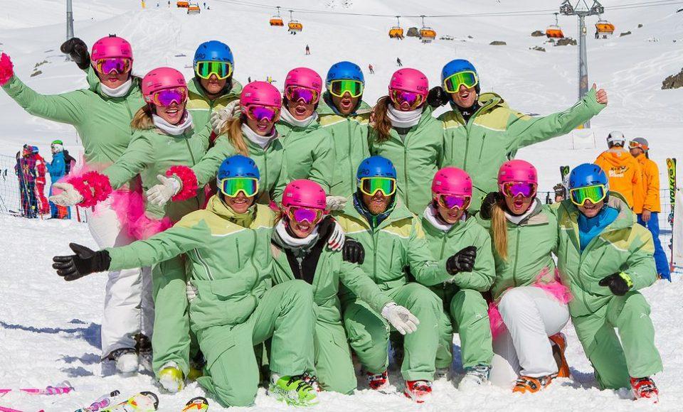 Beelden Wereldkampioenschappen voor skileraren 2017