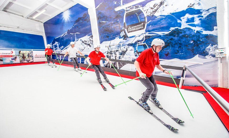 Skilerarenopleider gezocht voor rolskibaan in Litouwen