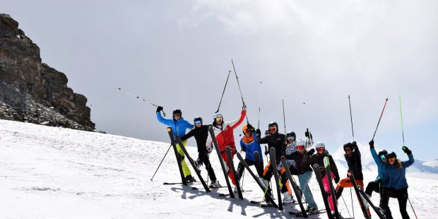 Skiën in de zomer? Jazeker!