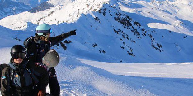 Sneeuw in de Alpen! De winter gaat beginnen!