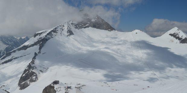 Welke gletsjers zijn geopend in de zomer?
