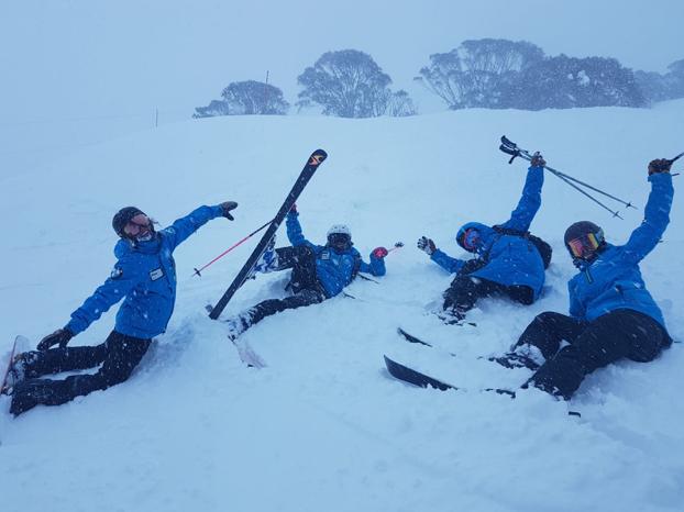 In de skischoenen van…. Blogster Laura!