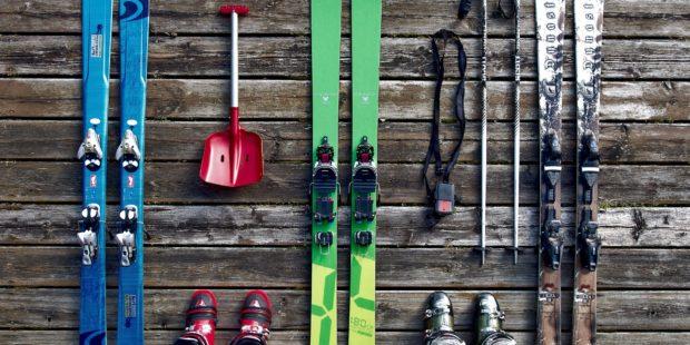 Het aanschaffen van nieuw materiaal, met vandaag de skischoen!