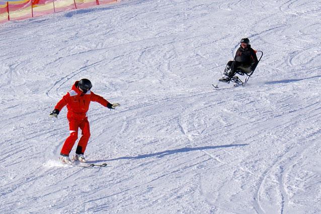 Skiën met een lichamelijke beperking