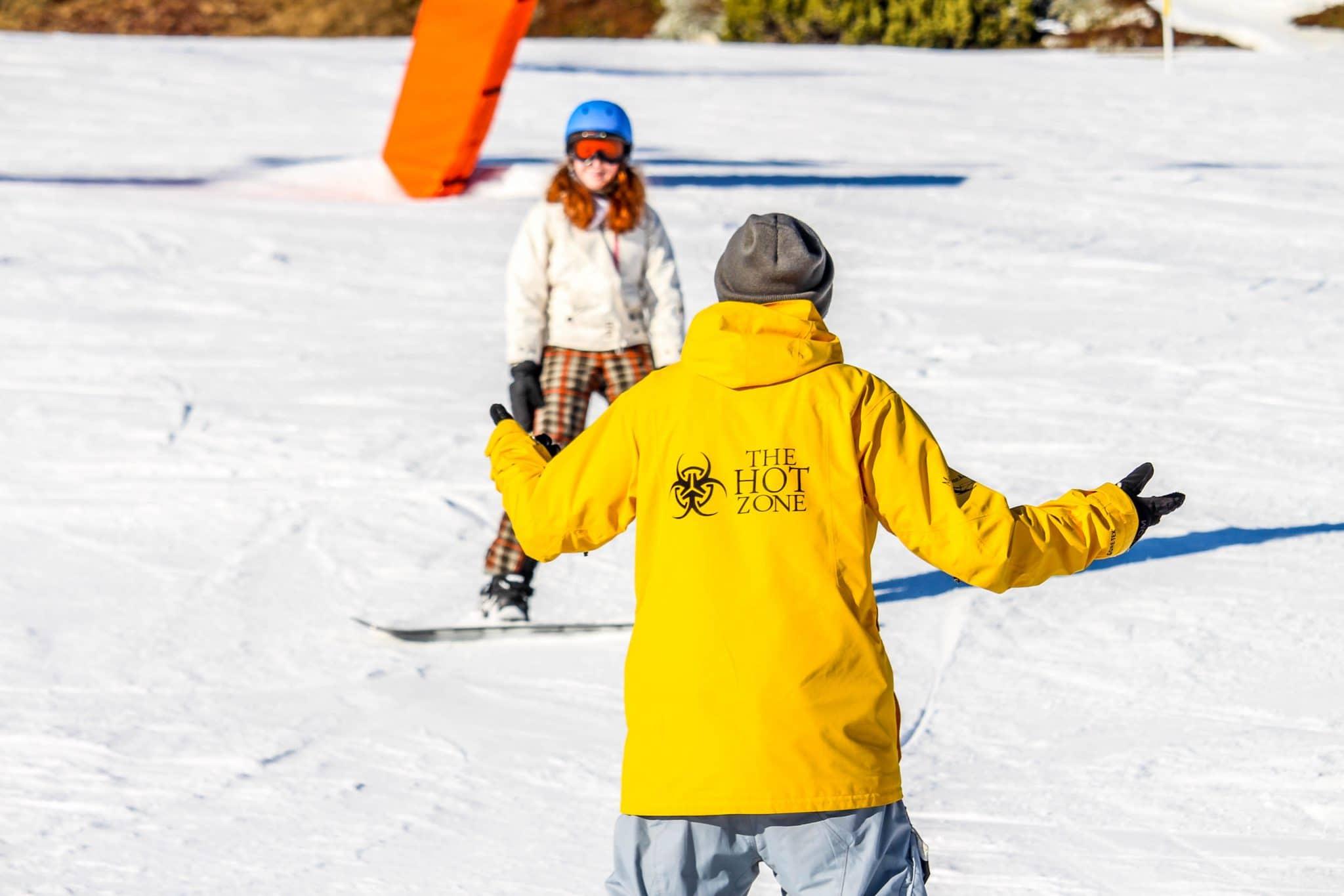 Snowboardleraar The Hotzone