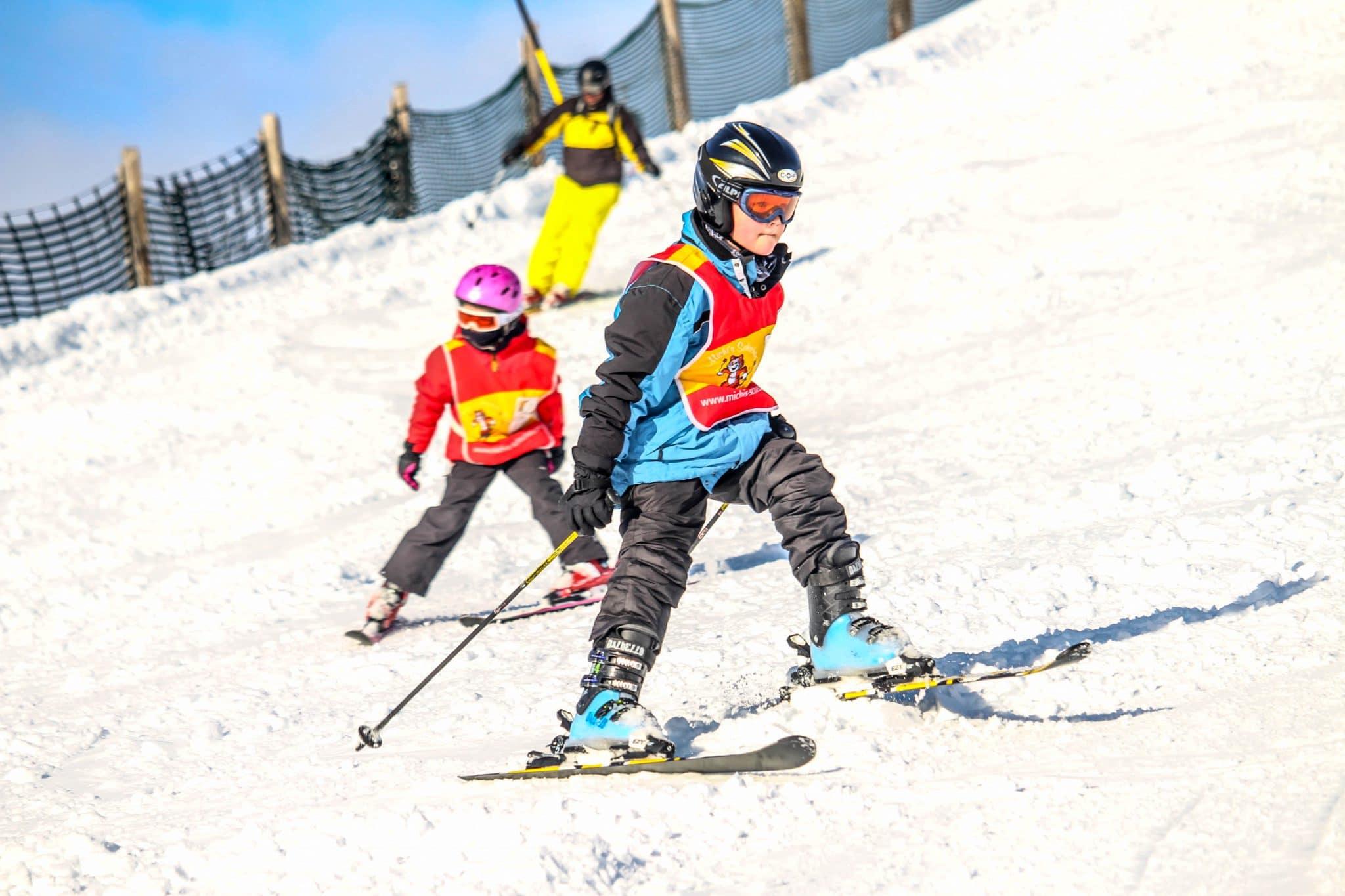 Skischool kinderen
